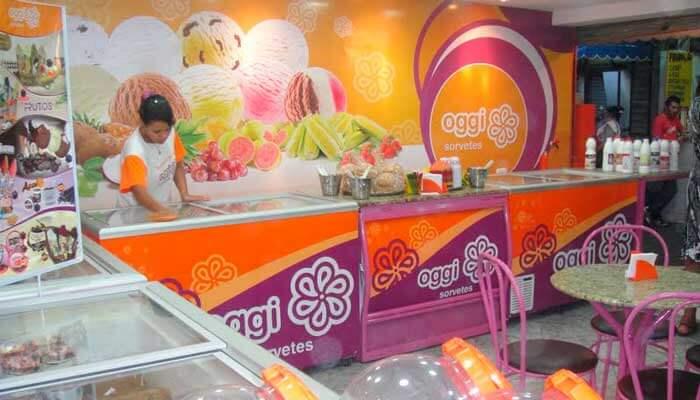 franquias de sorveteria - oggi sorvetes