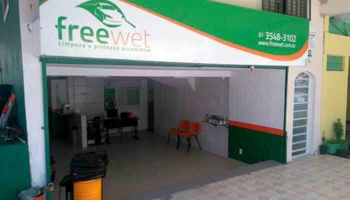 Franquia flexível - Freewet