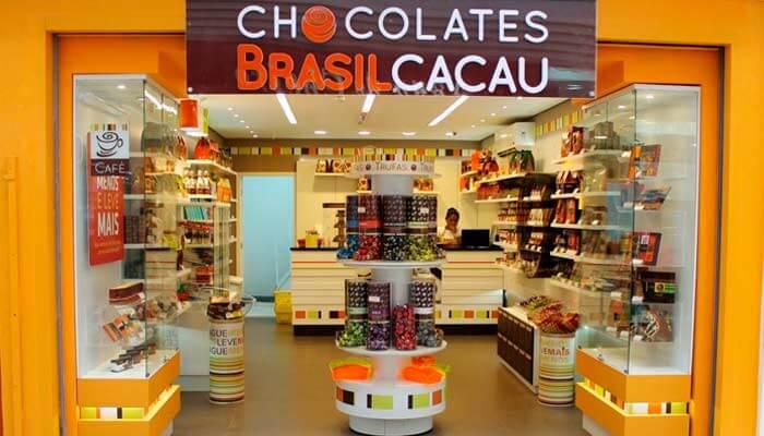 Maiores franquias - Brasil Cacau