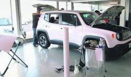 Reparos em carros são opções de franquias