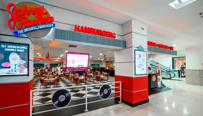 Franquias de hamburgueria - Johnny Rockets