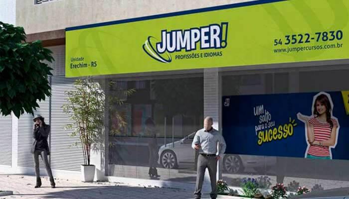 Franquias de serviços - Jumper Profissões