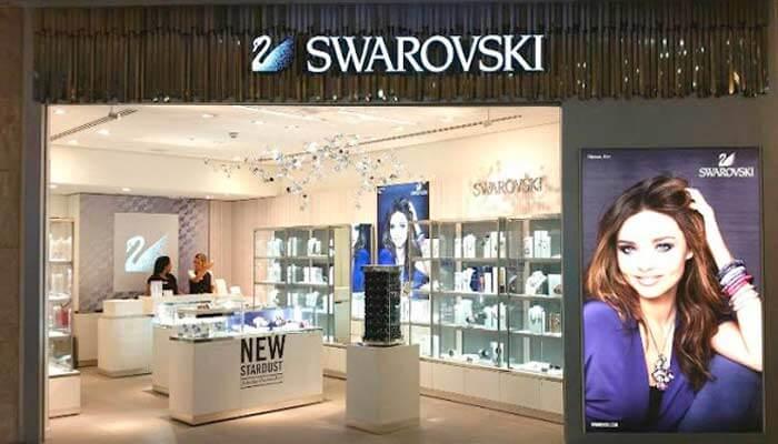 Franquias estrangeiras - Swarovski