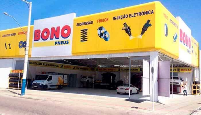Franquias em São Paulo - Bono Pneus