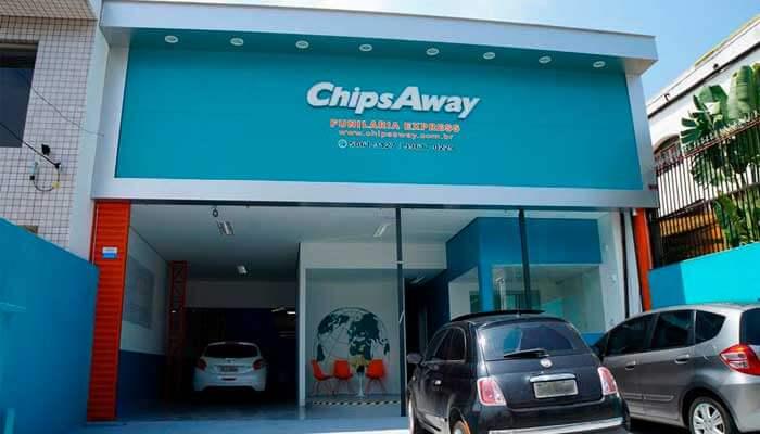 Franquias de serviços automotivos - Chips Away