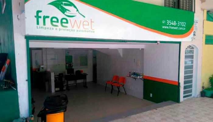 Franquia de carros - Freewet