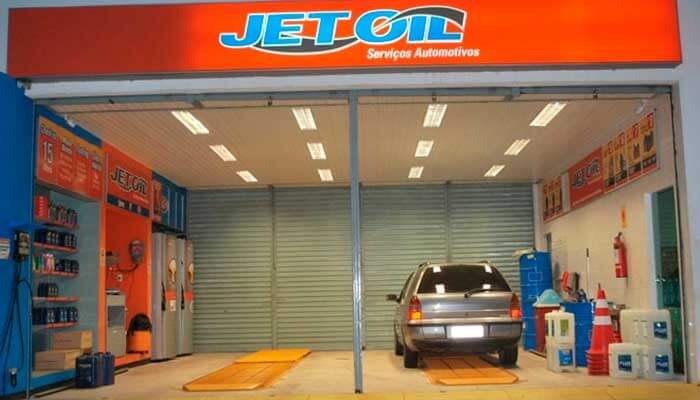 Franquia automotiva - Jet Oil