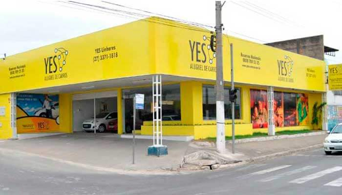 Franquia automotiva - Yes Rent a Car
