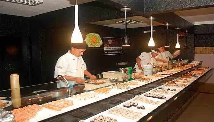 Franquia no Nordeste - Sushi Bar