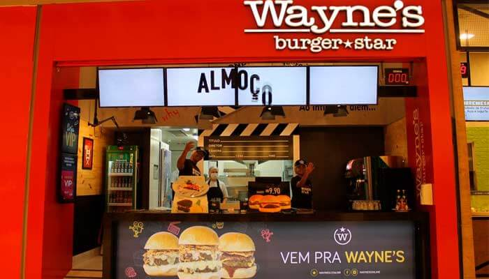 Franquia no Nordeste - Wayne's Burger Star