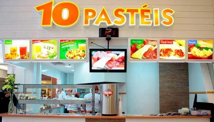 Franquias no Paraná - 10 Pastéis