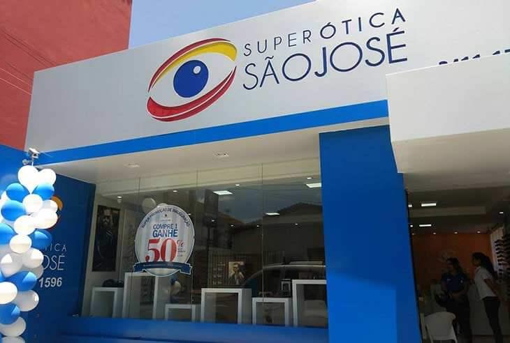 Franquias no Paraná — Super Ótica São José