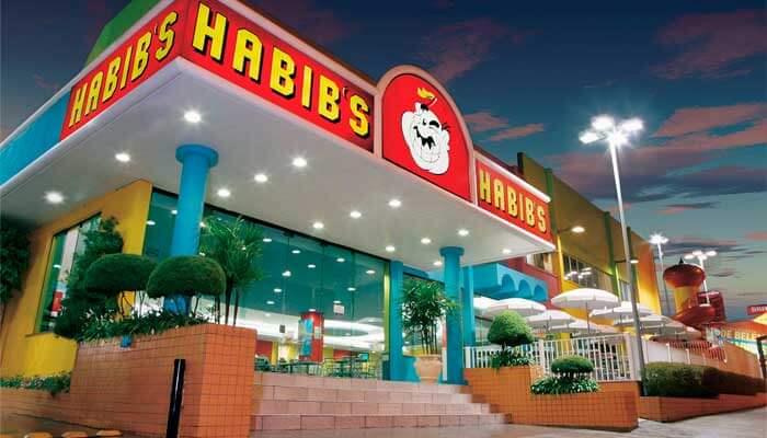 Maiores franquias - Habibs