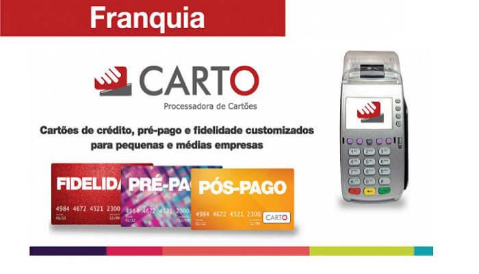 Microfranquias de até R$ 25 mil - Carto