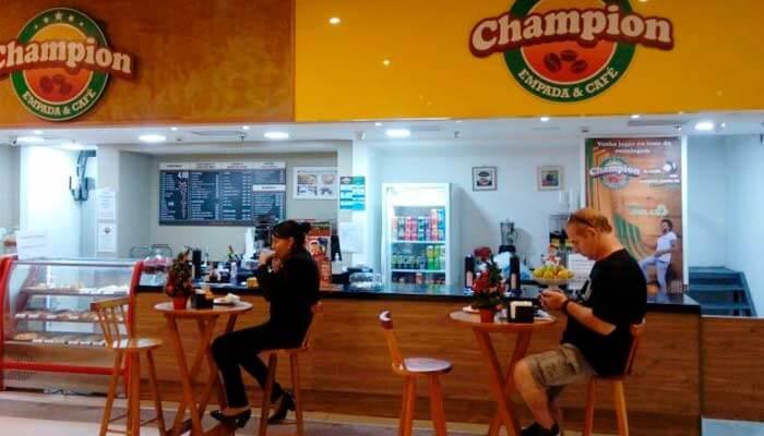 Franquias até R$ 100 mil - Champion Empada e Café