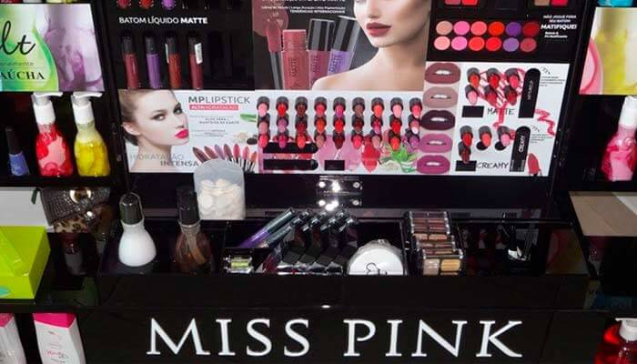 Microfranquias de até R$ 25 mil - Miss Pink