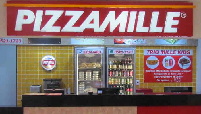 Franquias baratas de alimentação - Pizza Mille