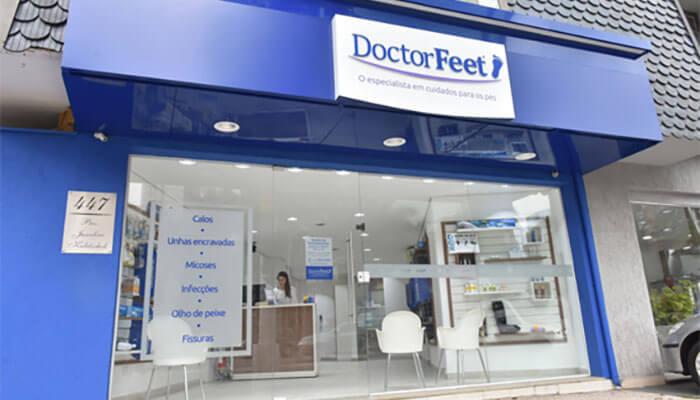 Franquias que não exigem experiência - Doctor Feet