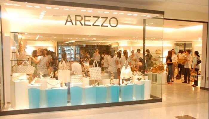 Franquias de calçados - Arezzo