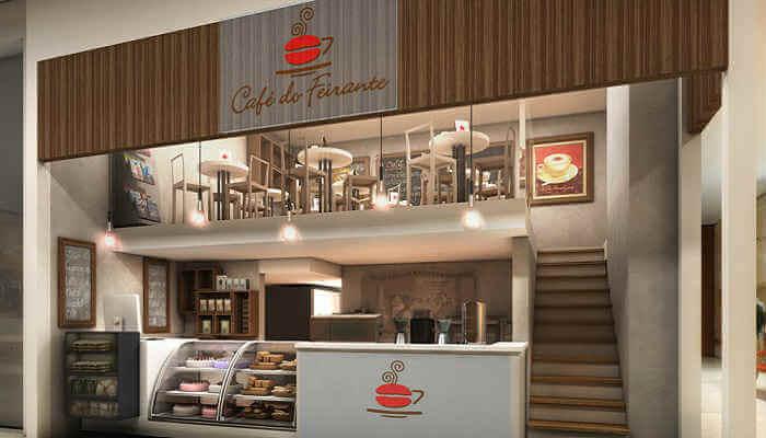 Franquias em locais alternativos - Café do Feirante
