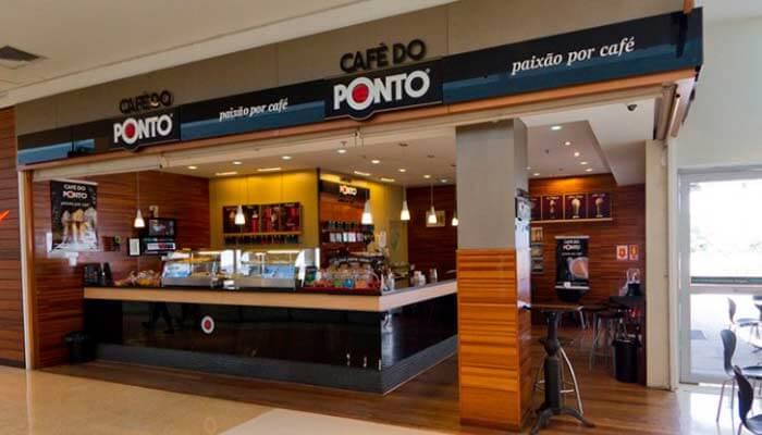 Franquias em locais alternativos - Café do Ponto