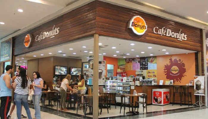 Franquias em locais alternativos - Café Donuts