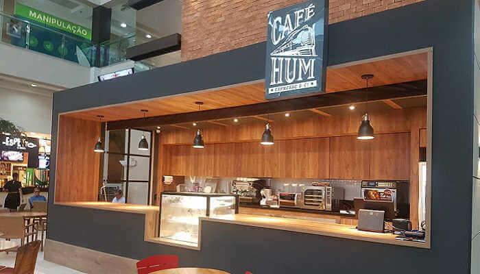 Franquias em locais alternativos - Café Hum