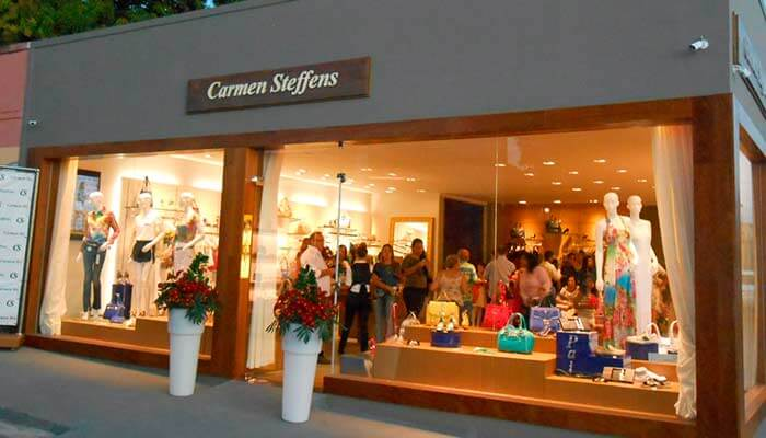 Franquias de calçados - Carmen Steffens