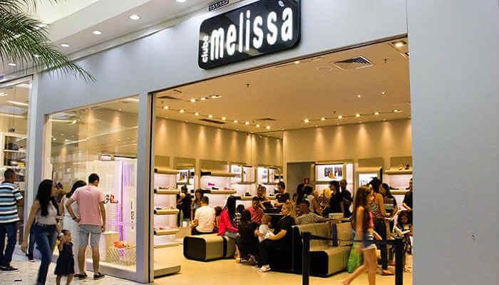 Franquias de calçados - Clube Melissa