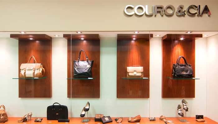 Franquias de calçados - Couro e Cia