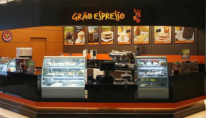 Franquias em locais alternativos - Grão Espresso