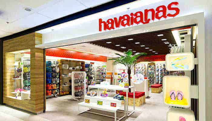 Franquias de calçados - Havaianas