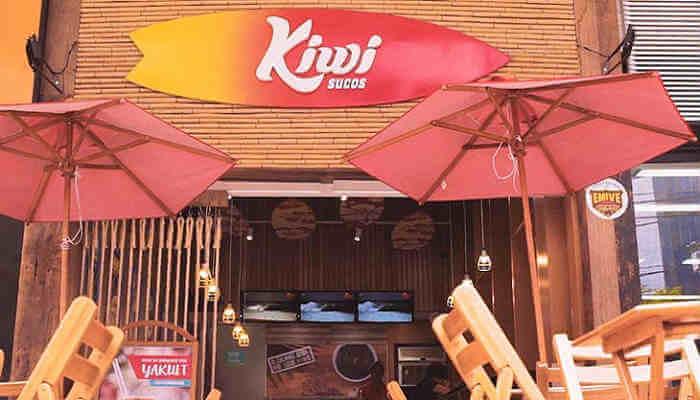 Franquias em locais alternativos - Kiwi Sucos