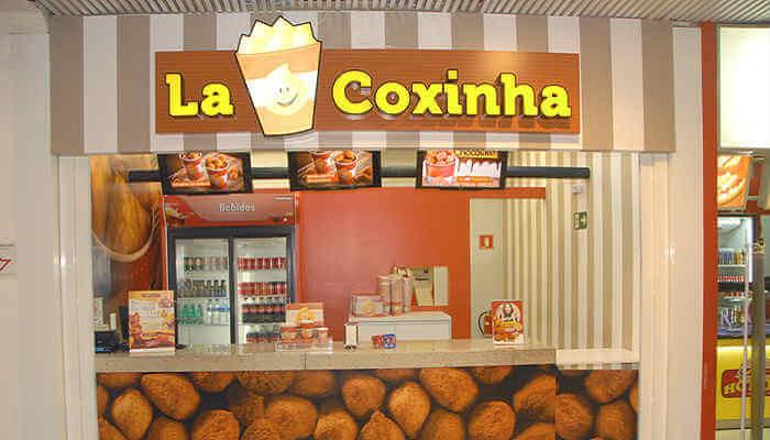 Franquias em locais alternativos - La Coxinha