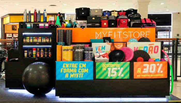Franquias de academia - My Fit Store