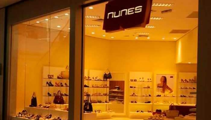 Franquias de calçados - Nunes