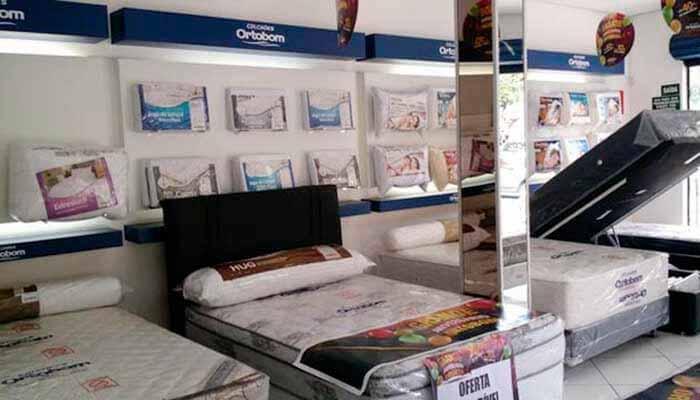 Franquias de móveis e colchões - Ortobom