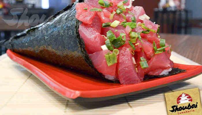 Franquias de comida japonesa - Shoubai Temakeria