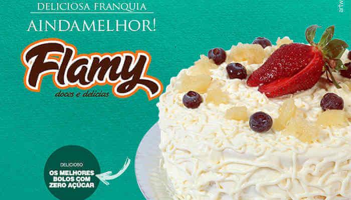 Franquias de bolos - Flamy Doces e Delícias