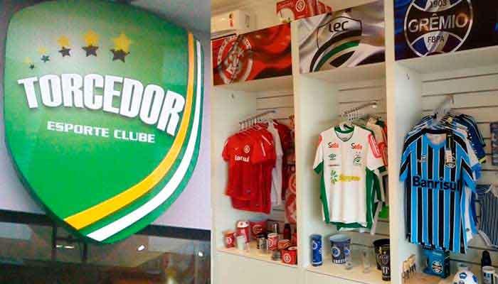 Franquias baratas de moda - Torcedor Esporte Clube