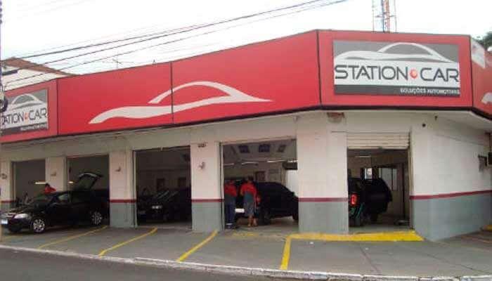 Franquias de serviços - Station Car