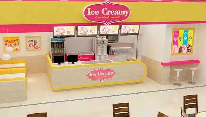 Franquias que parcelam o investimento - Ice Creamy