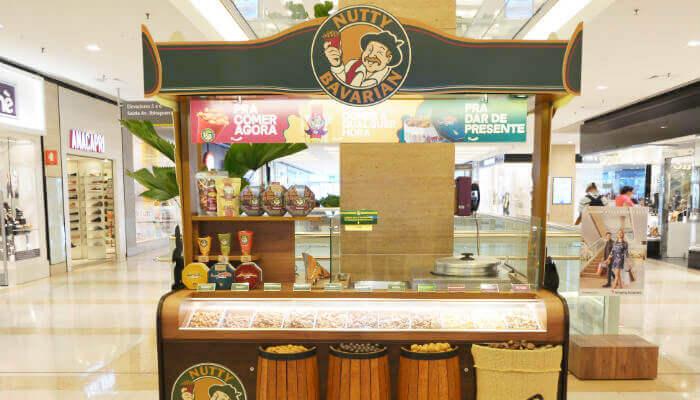 Franquias que parcelam o investimento - Nutty Bavarian