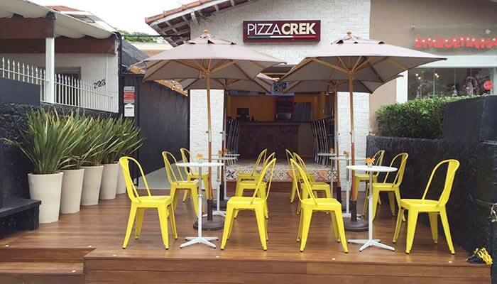 Ótimas franquias de alimentação - Pizza Crek