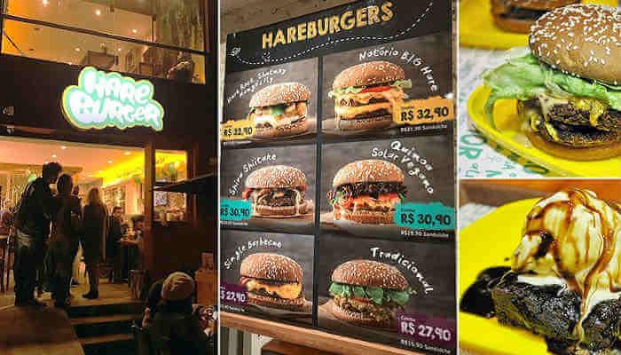Franquias de alimentação saudável - Hareburger