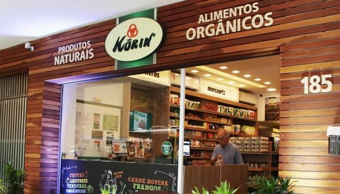 Franquias de alimentação saudável - Korin