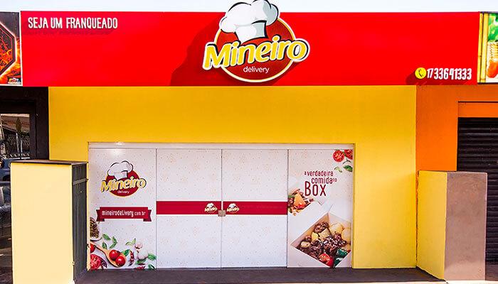 Franquias novas - Mineiro Delivery
