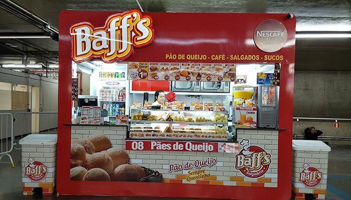 Ótimas franquias de alimentação - Baffs Salgaderia