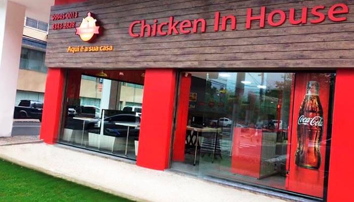 Ótimas franquias de alimentação - Chicken in House