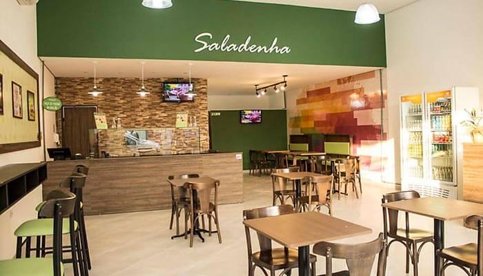 Ótimas franquias de alimentação - Saladenha